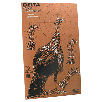 image relating to Printable Turkey Targets named Paper Goals-Delta Archery Paper Goals McKenzie Archery