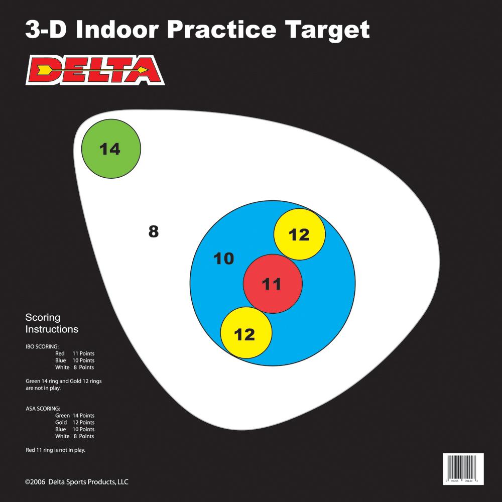 Paper Targets-Delta Archery Paper Targets McKenzie Archery